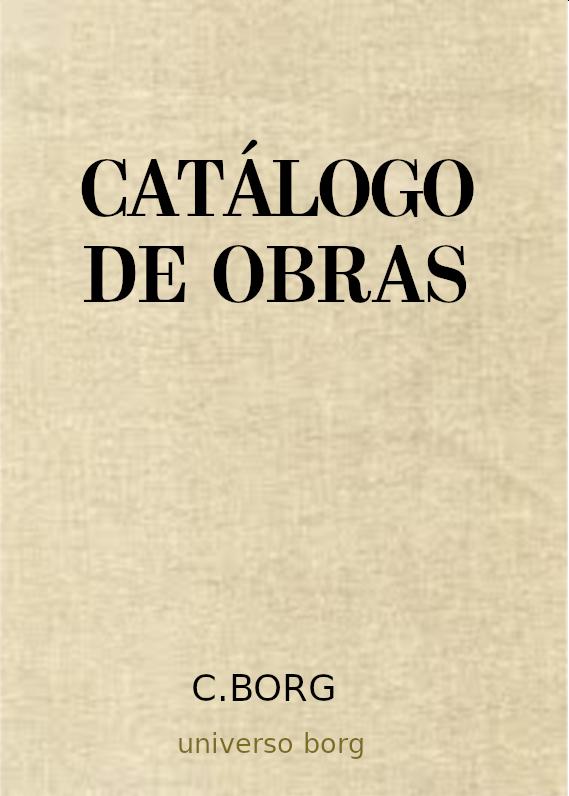 Catálogo Editorial de Universo Borg